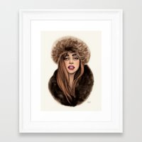 russian Framed Art Prints featuring Russian Princess by Helen Green