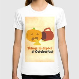 Things to expect at Octoberfest T-shirt