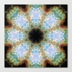 Space Mandala no7 Canvas Print