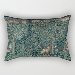 William Morris Greenery Tapestry Rectangular Pillow