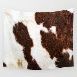 Cowhide Brown Spots Wall Tapestry