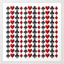 Card Symbols Art Print
