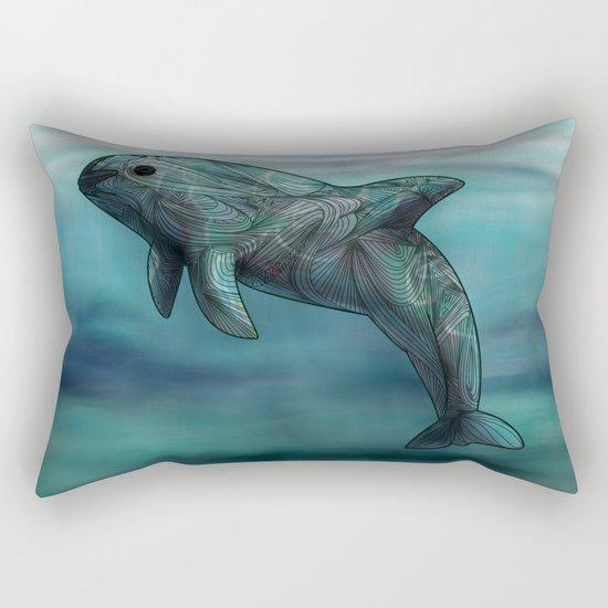 Vaquita  Rectangular Pillow