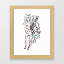 Such Angry Devils Framed Art Print