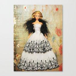 Summer Sophisticate Barbie Canvas Print