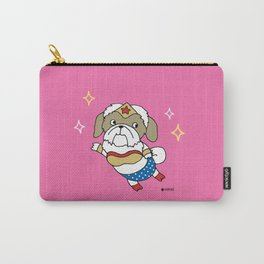 Super Hero - Wonder Shi Tsu Pink Carry-All Pouch