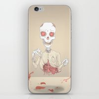zombie iPhone & iPod Skins featuring zombie by siddwills