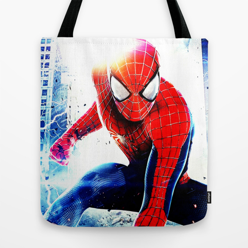 Spider Man Tote Bag by Verta43 TBG8825825