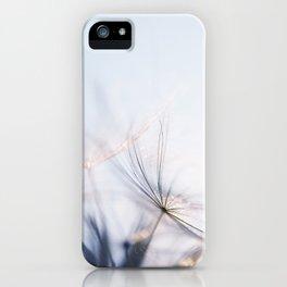 Macro dandelion iPhone Case