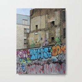 East London Metal Print