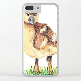Duckling Clear iPhone Case