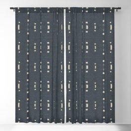 Shibori Dash Blackout Curtain