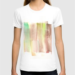 [161228] 22. Abstract Watercolour Color Study |Watercolor Brush Stroke T-shirt