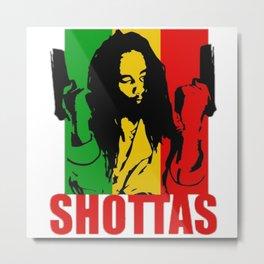 Jamaican Movie art Metal Print