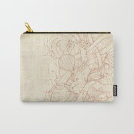 Abstract Nature | VACANCY zine | Carry-All Pouch