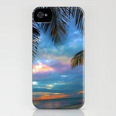 Palm Curtains iPhone (4, 4s) Slim Case