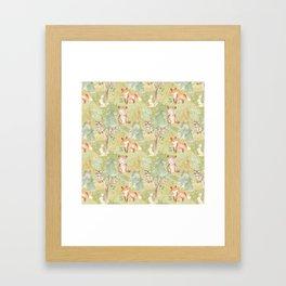 Woodland Nursery - Woodland Friends Framed Art Print