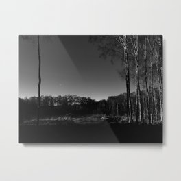 Eerie view in the Highlands Metal Print