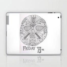 Hockey Mask Doodle Laptop & iPad Skin