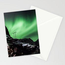 Aurora in Lofoten, Norway (II) Stationery Cards