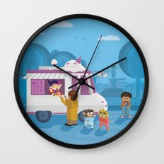 The Nick Yorkers in August Wall Clock