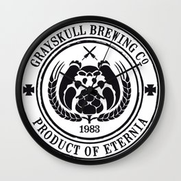 Grayskull Brewing Company Wall Clock