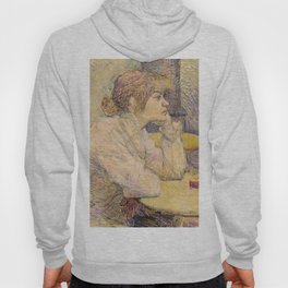 "Henri de Toulouse-Lautrec ""The Hangover (Suzanne Valadon)"" Hoody"