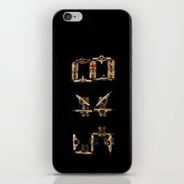 Sk8 typography iPhone Skin