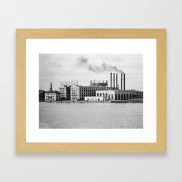 Detroit rubber Framed Art Print