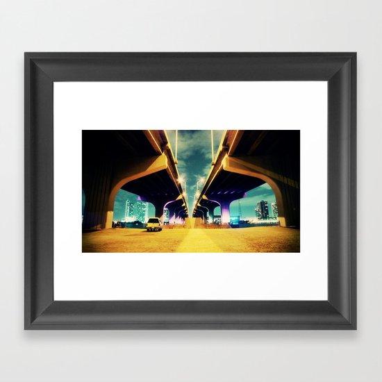 Under MacArthur Framed Art Print