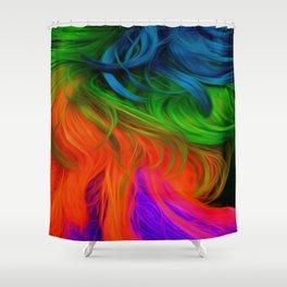 Bright Mane Shower Curtain