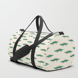 Crocodile on Roller Skates Duffle Bag