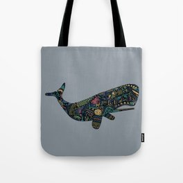 Shafted Whale Tote Bag