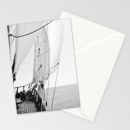 Away We Sail Stationery Cards