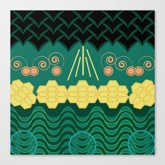 HARMONY pattern Canvas Print