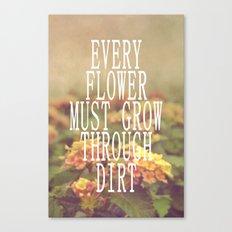 Every Flower Canvas Print