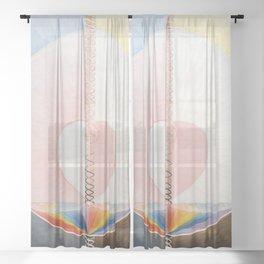 Hilma af Klint - The Dove Sheer Curtain