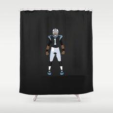Keep Pounding - Cam Newton Shower Curtain