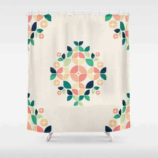 The Bouquet Shower Curtain