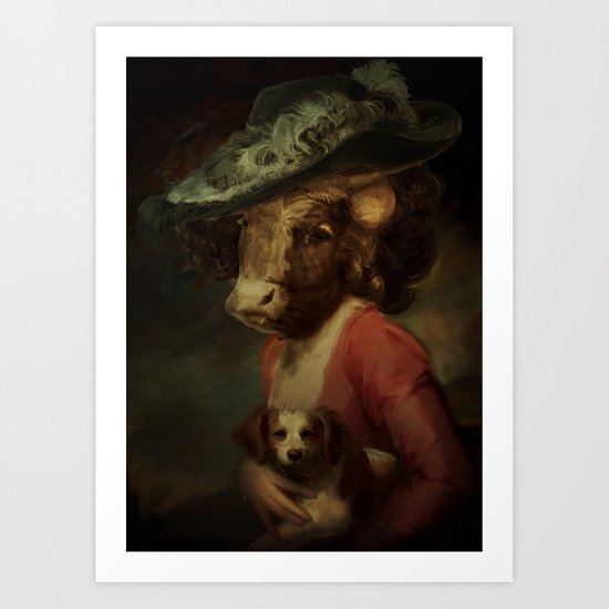Cow #3 Art Print