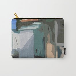ST. Maarten Color Block House  Carry-All Pouch
