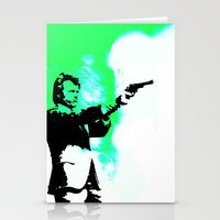 clint barton Stationery Cards featuring Clint by Fimbis