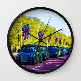 The London Drive Wall Clock