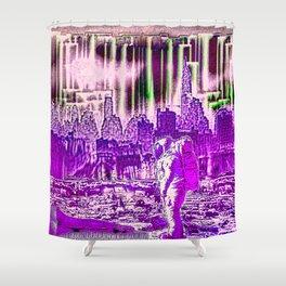 astronaut Shower Curtain