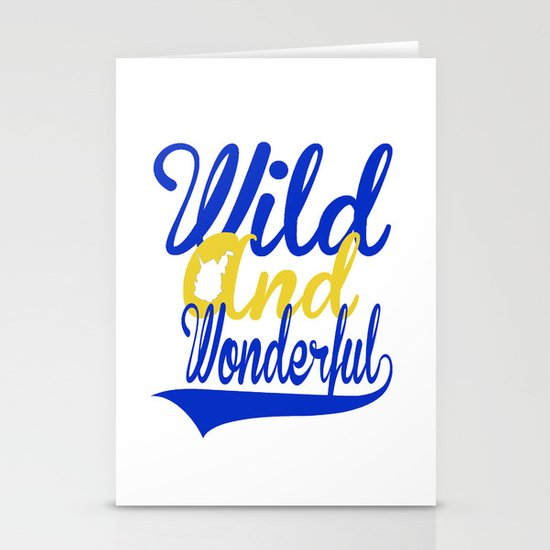 Wild and Wonderful WV Stationery Cards
