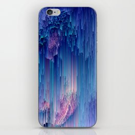 Fairy Glitches - Abstract Pixel Art iPhone Skin