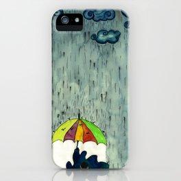 Oh! Raining Night iPhone Case