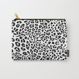 Leopard Texture IV Carry-All Pouch