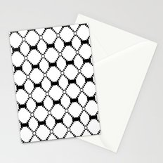 B&W pattern Stationery Cards