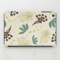 leaf iPad Cases featuring leaf by Ceren Aksu Dikenci